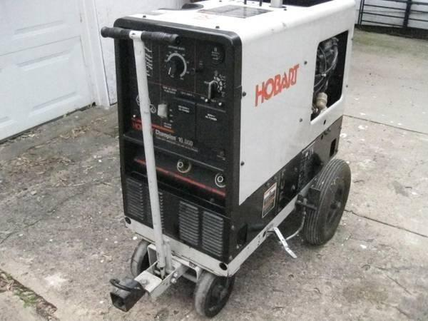Hobart Champion 10 000 Watt Generator Welder With Cart