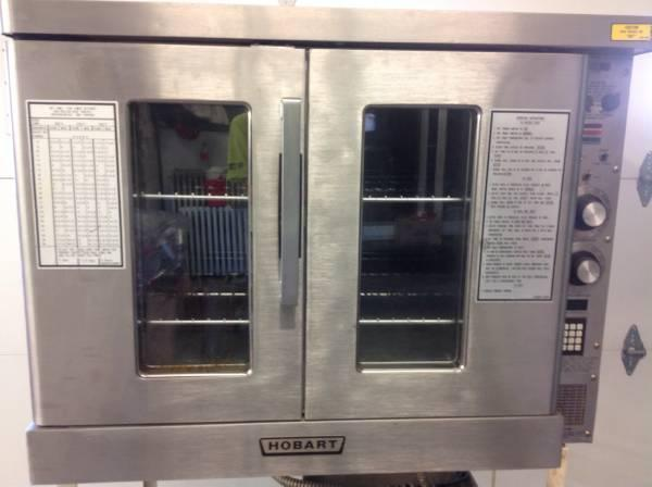 Hobart Industrial Convection Oven For Sale In Sac City