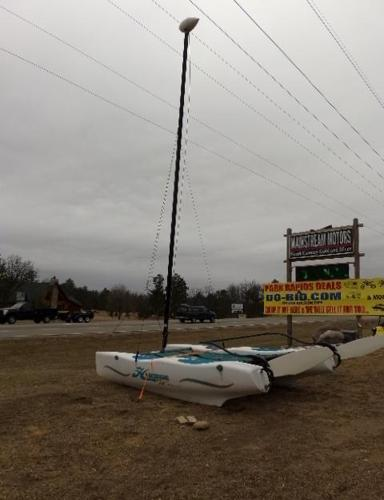 HOBIE CAT WAVE 13' BOAT for Sale in Arago, Minnesota