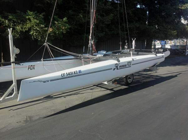 Hobie Fox Catamaran, 2001 Sailboat - $10000