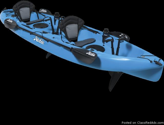 HOBIE MIRAGE KAYAK WITH SAIL KIT