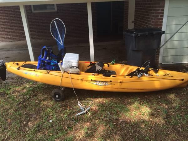 Hobie Outback Kayak Fully Loaded For Sale In Beaufort
