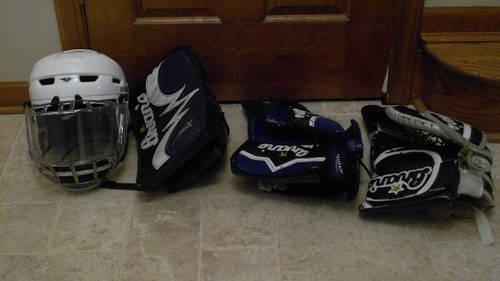 Hockey Equipment - Goalie and Player
