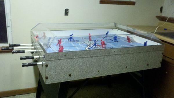 Hockey Foosball Table Good Condition Holly For Sale