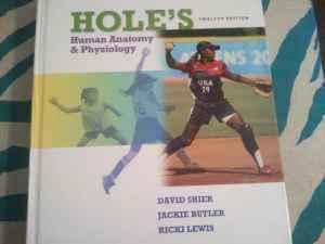 Holes Human Anatomy & Physiology textbook and lab manual