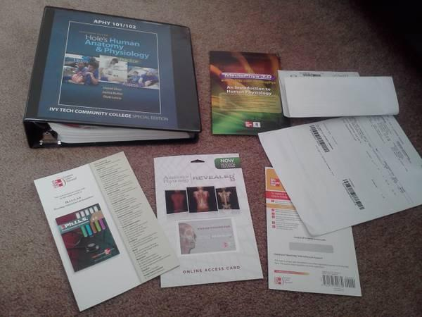 Holes Human Anatomy & Physiology Textbook & eScience Lab Kit - for ...