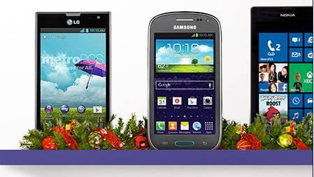 Holiday sales Metro Pcs