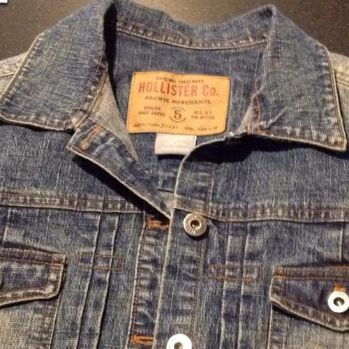 Hollister girls/ladies denim jacket.