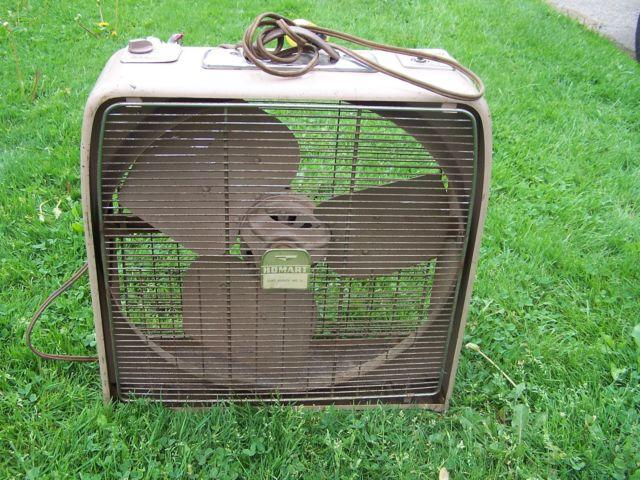 Box Fans On Sale : Homart metal box fan quot sturdy construction works