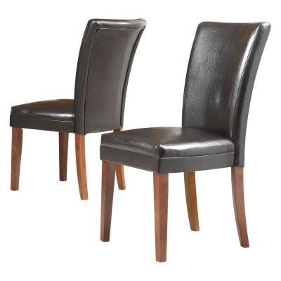 Home Decorators Collection 18 in. H Dark Brown Faux