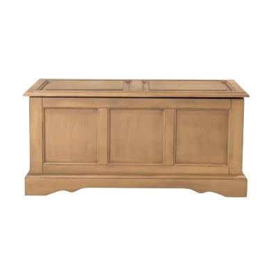 Home Decorators Collection Cameron Heritage Oak Bench With