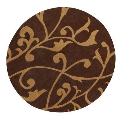 Home decorators collection perpetual brown 7 ft 9 in for Home decorators rug sale