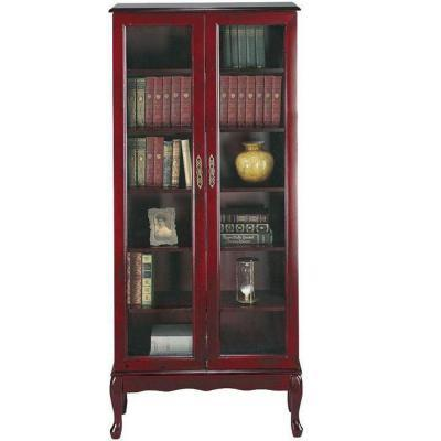 Home decorators collection queen anne 31 in w mahogany 6 for Home decorators collection sale