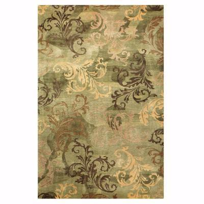 Home decorators collection symphony sage and green 8 ft x for Home decorators rug sale