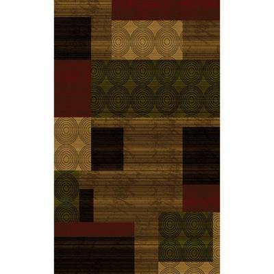 Home Dynamix Bazaar Cas HD1626-Brown-Multi 7 ft. 10 in.
