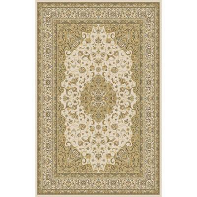 Home Dynamix Bazaar Trim HD2412-Ivory 7 ft. 10 in. x 10 ft. 1 in. Area Rug