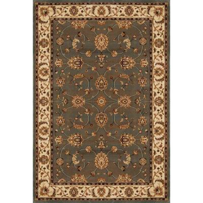 Home Dynamix Dynasty Gray-Beige 9 ft. 2 in. x 12 ft. 5 in. Area Rug