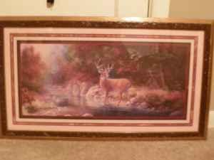 home interior deer pictures home interiors deer picture and candle holder coburg 18244