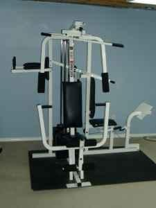 weider home gym assembly instructions