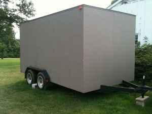 Basics Woodworking Homemade Wood Enclosed Trailer