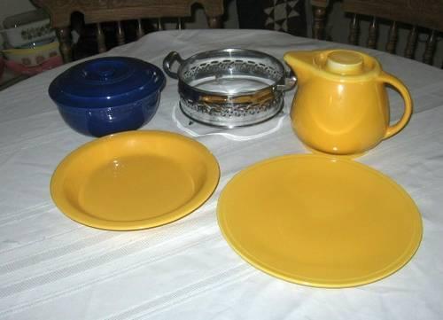 Homer Laughlin Fiesta Kitchen Kraft Promo Set + KK
