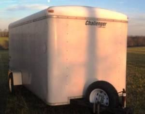 Homesteader enclosed 12x6 box trailer - $2200 (Henry