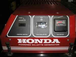 HONDA 5000 WATT GENERATOR   $1400 (WINDHAM, CT)