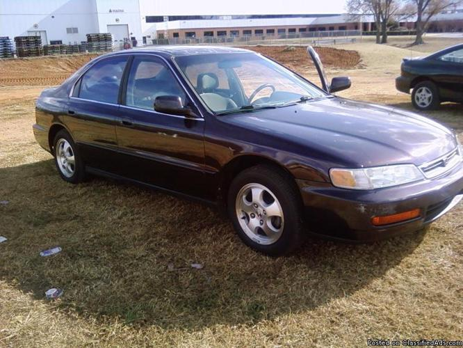 honda accord 1997 special edition for sale in greenville south carolina classified. Black Bedroom Furniture Sets. Home Design Ideas