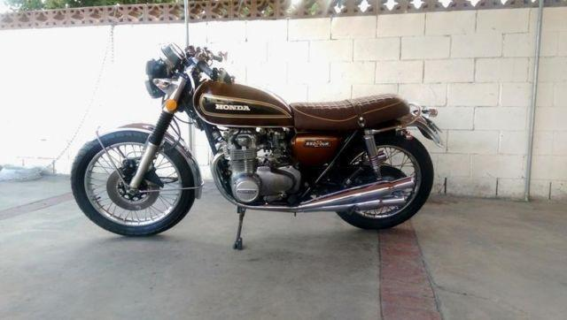 Honda CB CB550 F Classic Vintage Cafe Racer