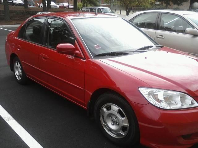 honda civic hybrid 2004 for sale in raleigh north carolina classified. Black Bedroom Furniture Sets. Home Design Ideas