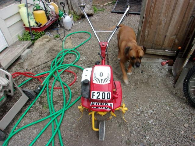Honda F200 ROTO TILLER