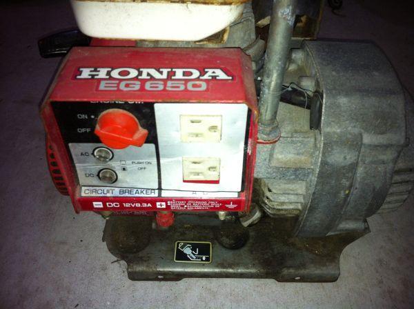 Honda Generator EG650 - (Wilmington) for Sale in ...