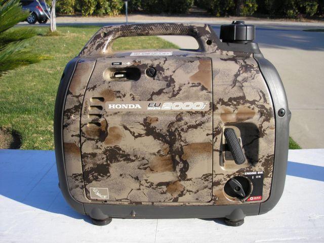 honda generator eu 2000 camouflage for Sale in Upland