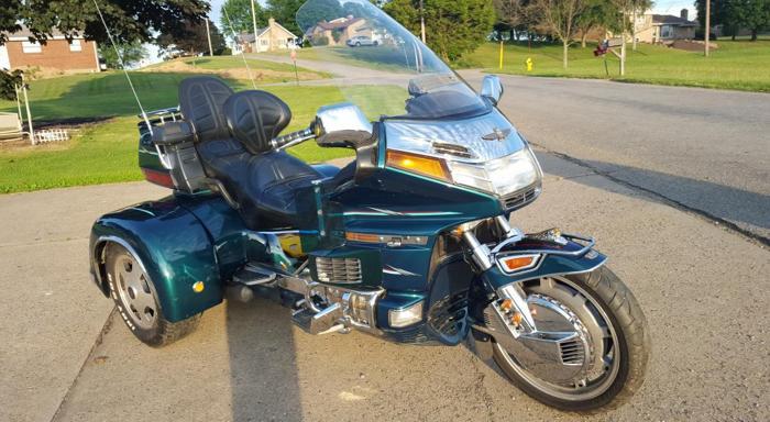 Honda Goldwing Trike For Sale In Craigsville  Pennsylvania
