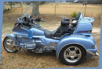Honda Goldwing with sidecar