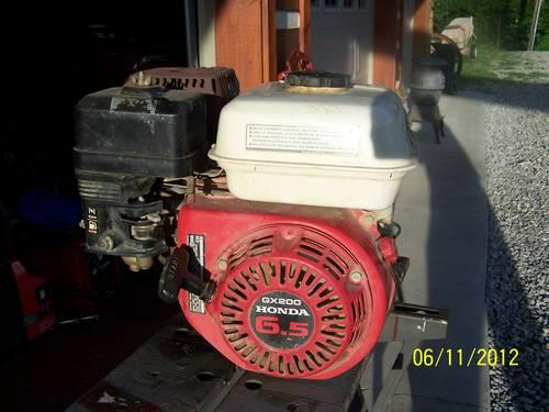 HONDA GX-200 6.5 HP 4 STROKE ENGINE 34 in SHAFT