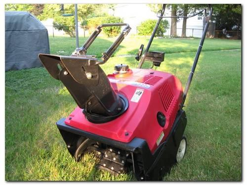 Honda HS520KAS Single Stage Snow Blower