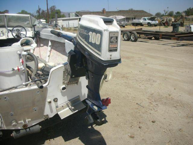 Honda outboard boat motor 10 hp 4 stroke honda b100s for 10 hp boat motors