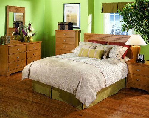 honey maple bedroom set for sale in san bruno