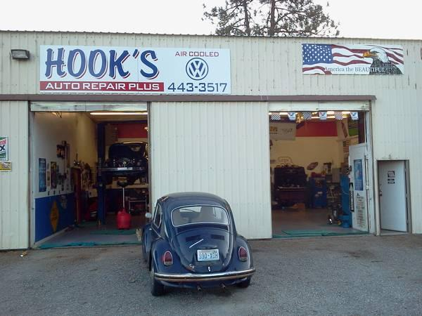 HooK's AIR cooled VW REPAIR AN rebuild