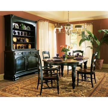Hooker Dining Table, Hutch U0026 Buffet Set