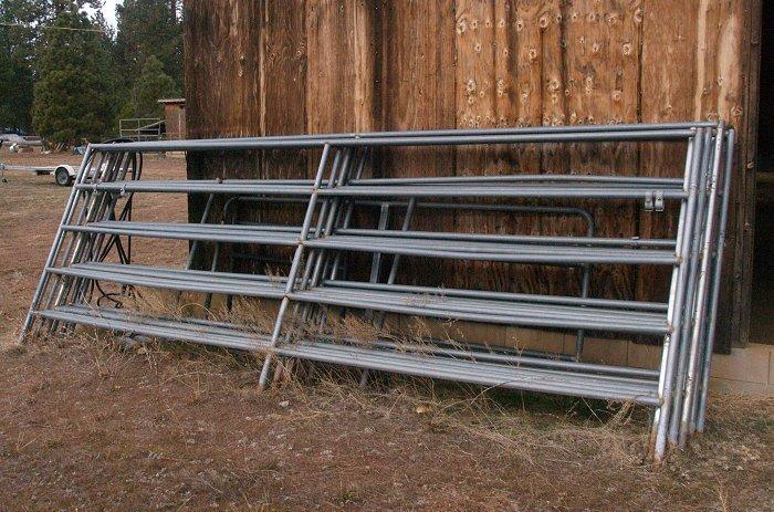 horse corral panels 16 39 by 6 39 6 pieces greenville ca for sale in susanville california