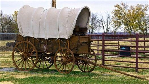 Horse Drawn Covered Wagon Wanted