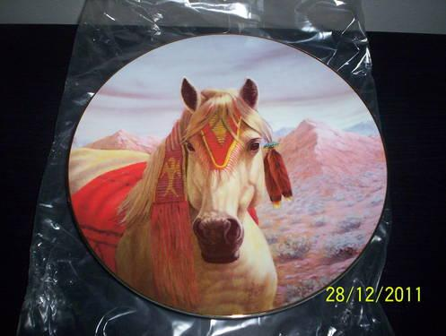 Horse plate, Arapaho by Gregory Perillo 1st in Tribal