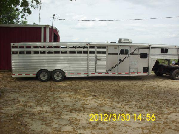 Horse Stock Combo Trailer With Living Quarters Lizella