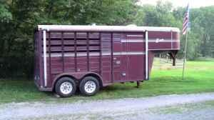 HORSE TRAILER 1991 2 HORSE - $3500 (NEW PHILADELPHIA)