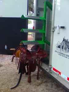 Horse Trailer Electric Saddle Rack Saint Johns For