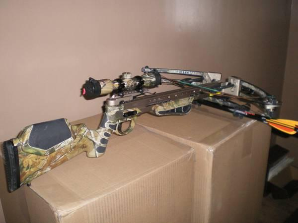 ! HORTON NEW IN BOX CROSSBOW PKG SALE REALTREE ULTRA-175 6LB CROSSBOW! -  $450