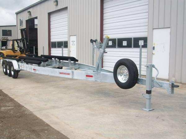 Hot Dipped Galvanized Boat Trailer 15600 GVW - $7129