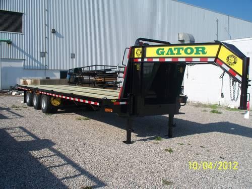 Hot Shot Trailer Freight Trailer Gooseneck Trailer Oil